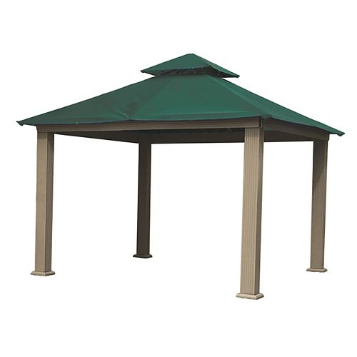 12 ft. Sq. Gazebo -Green