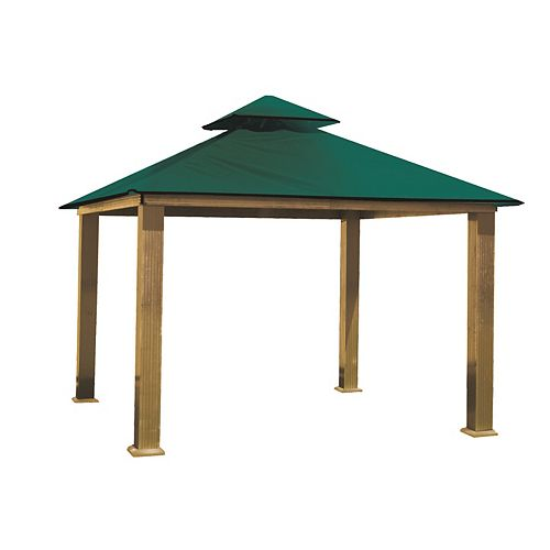 14 ft. Sq. Gazebo -Green