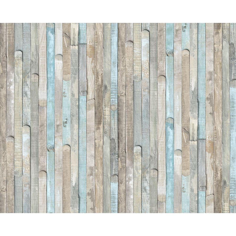 D-C-Fix 346-0644 Home Decor Self Adhesive Decor 17-inch x 78-inch Beach Wood - (2-Pack)
