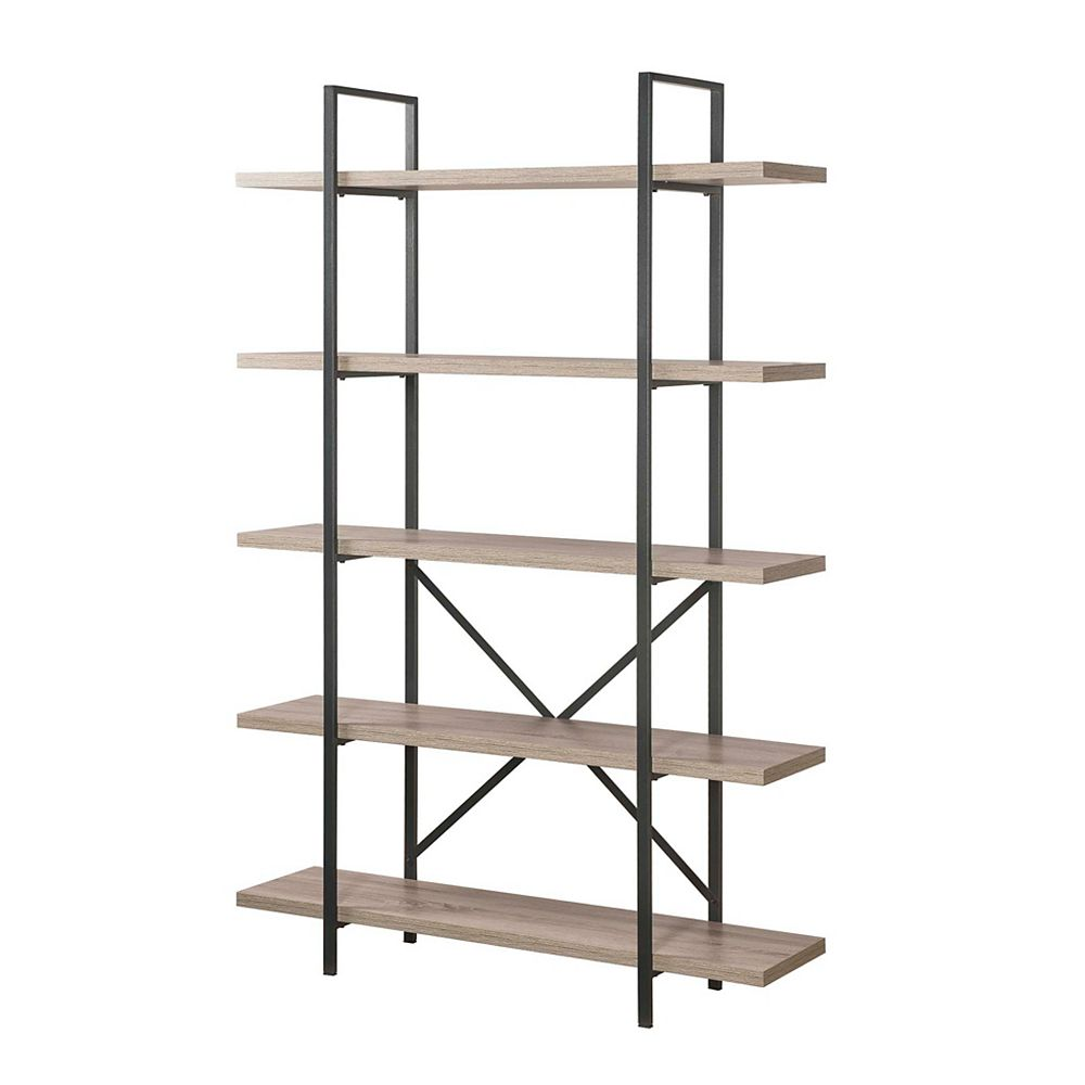Home Decorators Collection 5-Tier Industrial Bookcase