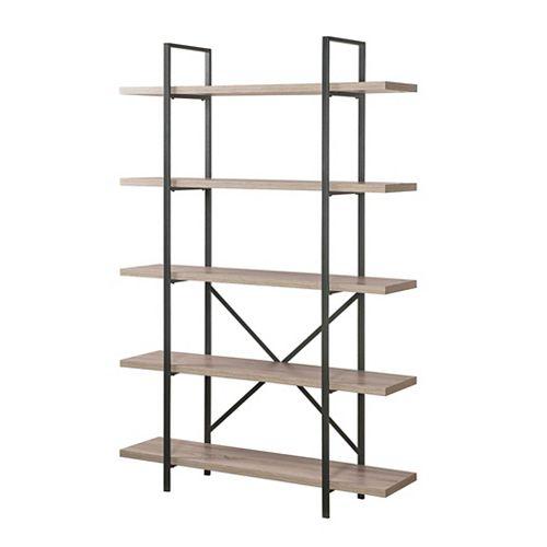 5-Tier Industrial Bookcase