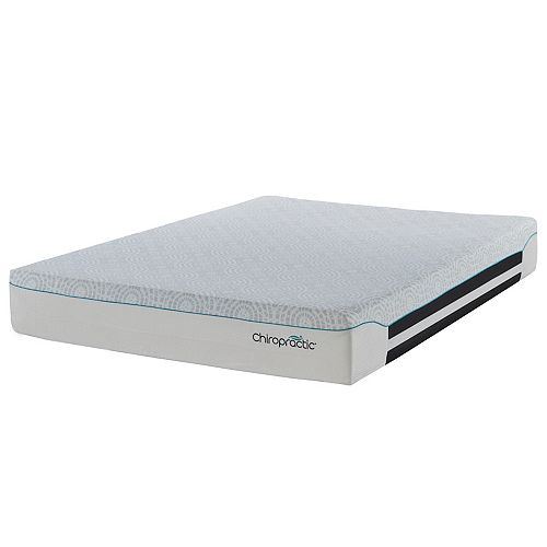 Chiropractic Form Pocket Coil 12-inch King Mattress
