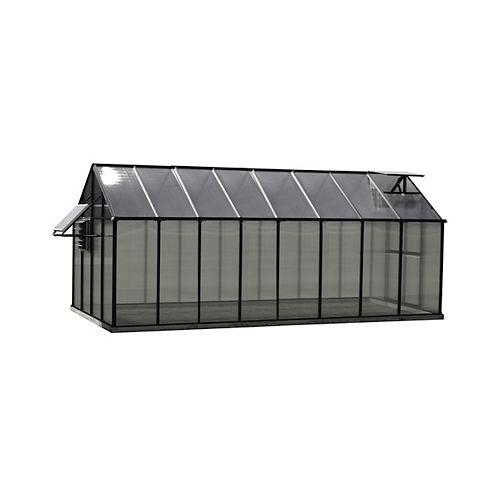 Greenhouse 8 ft. X 16 ft. Black Greenhouse - Mojave Edition+I46