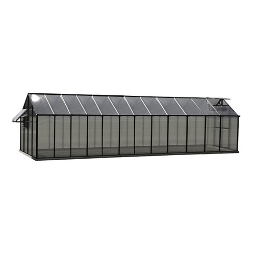 Greenhouse 8 ft. X 24 ft. Black Greenhouse - Mojave Edition