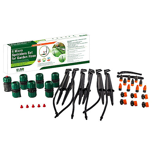 65 ft. Customizable Portable Sprinkler Watering System