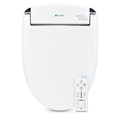Brondell Swash SE600 Bidet Toilet Seat-Elongated, White
