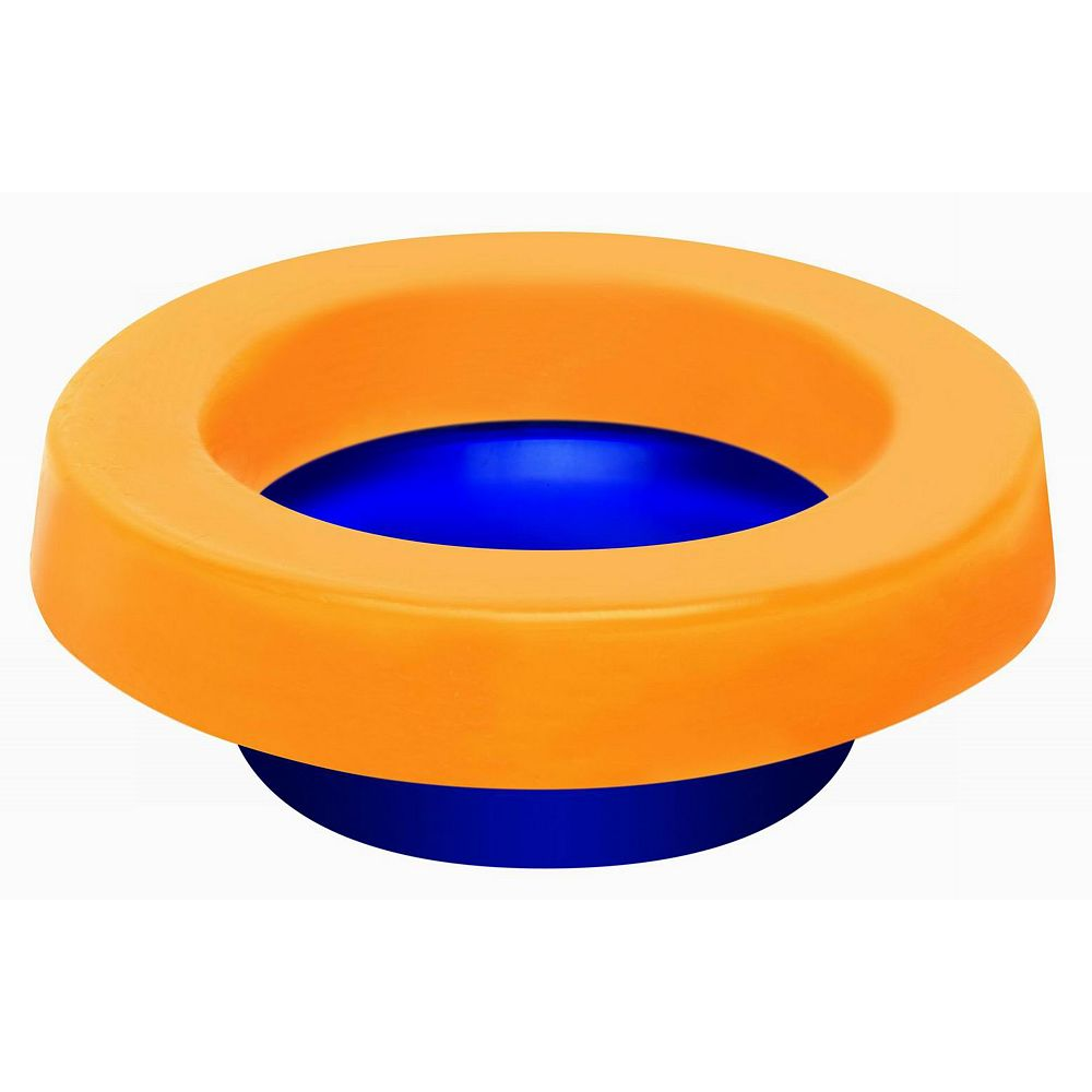 Spacio Elastic Toilet Gasket (Wax Free) with Toilet Bolts included.