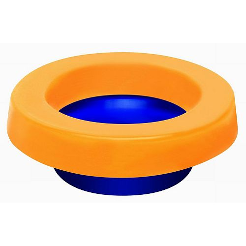 Elastic Toilet Gasket (Wax Free) with Toilet Bolts included.