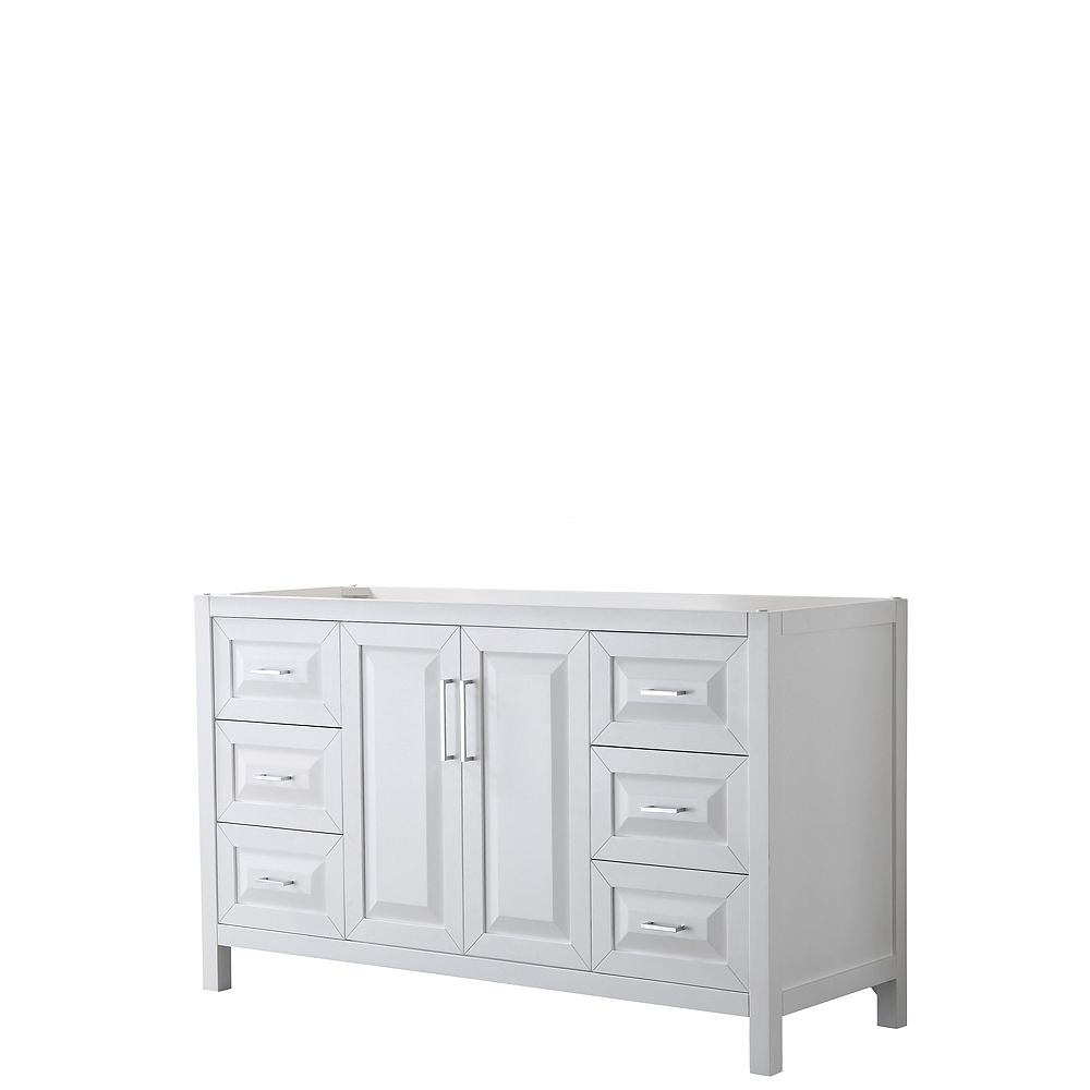 Wyndham Collection Daria 60 Inch Single, Home Depot Canada Bathroom Vanities Without Tops