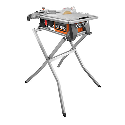 7-Inch PortableTable Top Wet Tile Saw with Stand and Bonus Blade