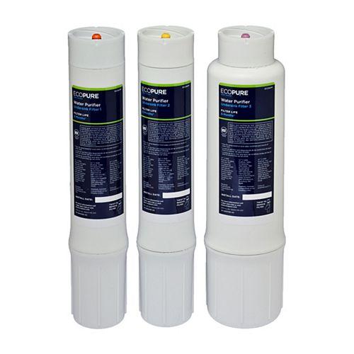 EcoPure Système d'épuration d'eau pour dessous d'évier EcoPure
