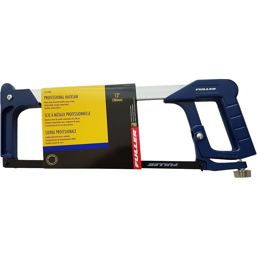 Fuller Pro Series 12-inch Heavy-Duty Hacksaw with Square Frame