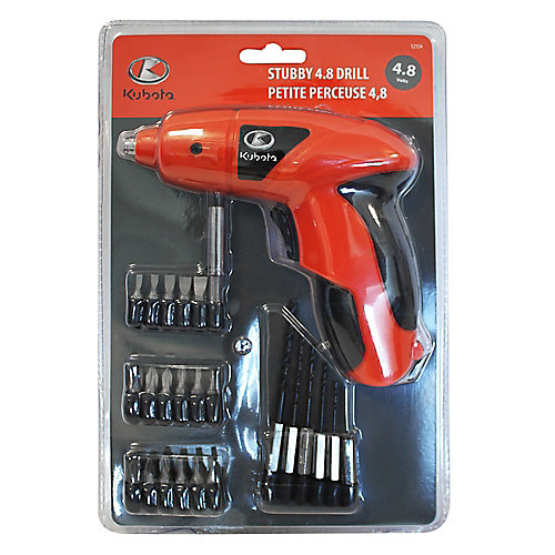 Stubby 4.8 Volts Drill