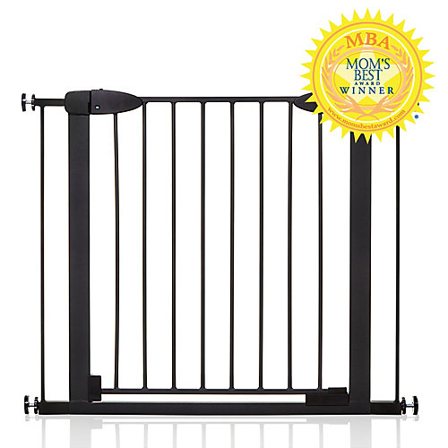 Boston Magnetic Auto-Close Security Gate - Black