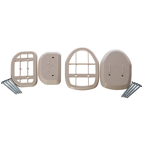 Retractable Gate Spacers - Beige