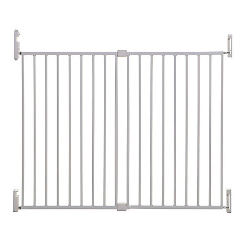 Broadway Xtra-Wide Gro-Gate - White