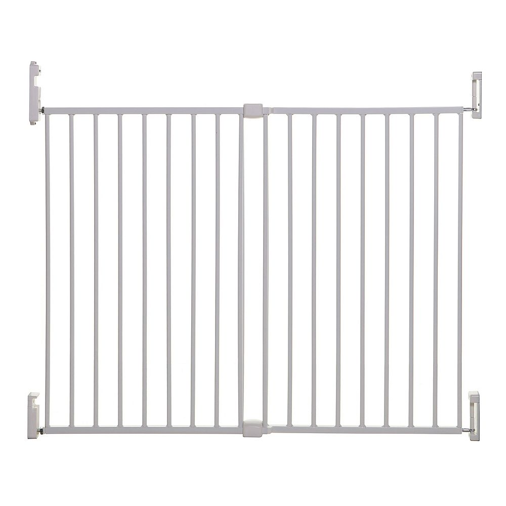 Dreambaby Broadway Xtra Wide Gro-Gate - Blanche