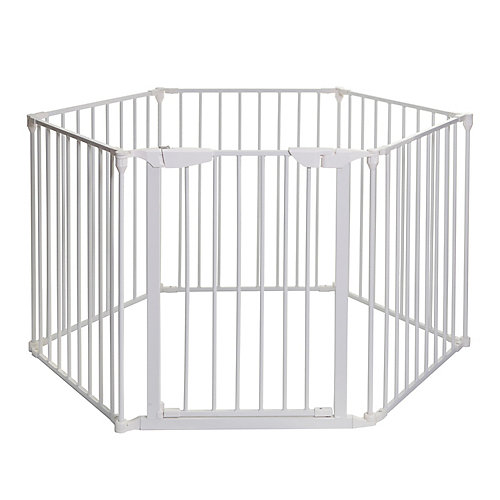 Mayfair Coverta 3-in-1 Play-Pen Gate - White
