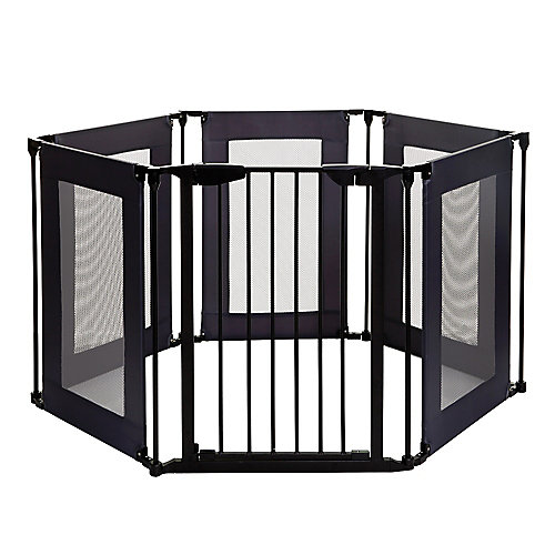 Brooklyn Converta Play-Pen Gate with Mesh Panels