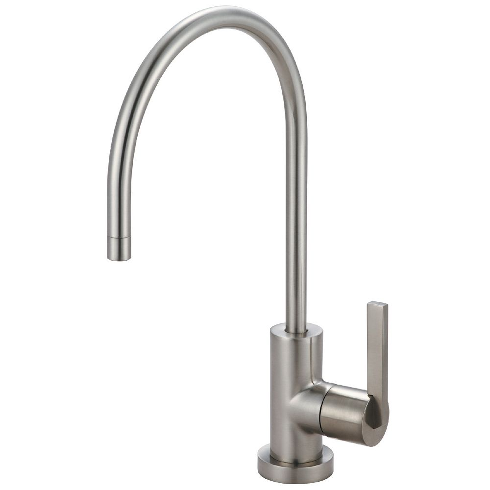 Kingston Brass Replacement Drinking Water Filtration Faucet in Satin Nickel for Filtration Systems