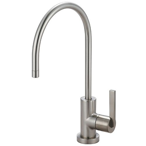 Replacement Drinking Water Filtration Faucet in Satin Nickel for Filtration Systems
