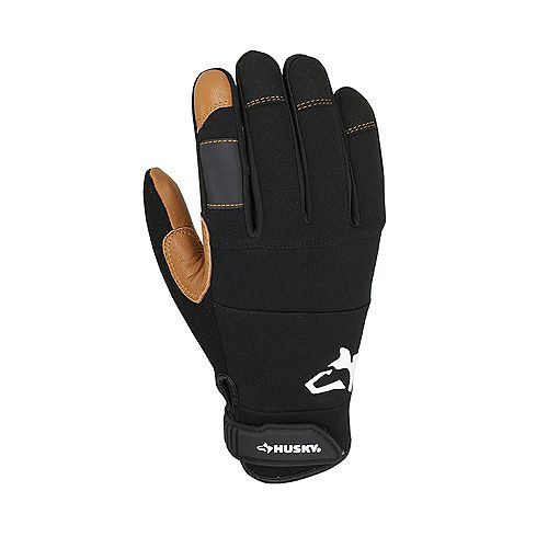 Goat Leather Medium Duty Work Gloves in Medium (3-Pack)