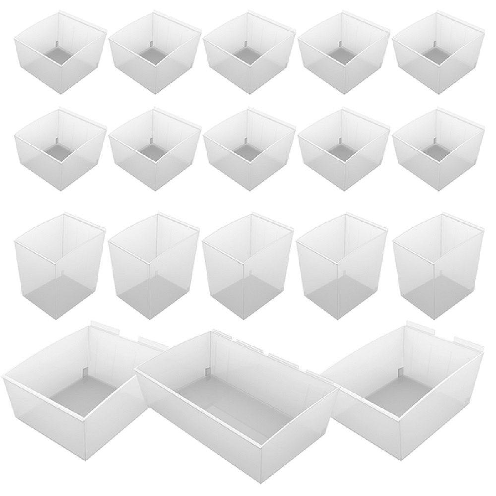 Proslat Wall Storage Solutions - ProBin Kit - (18-Piece)