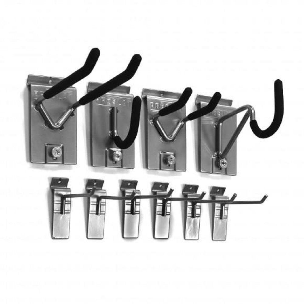 Wall Storage Solutions - Mini Hook Kit (10-Piece)