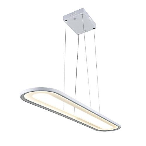 """50"""" Capel LED Lustre avec Fini blanc"""