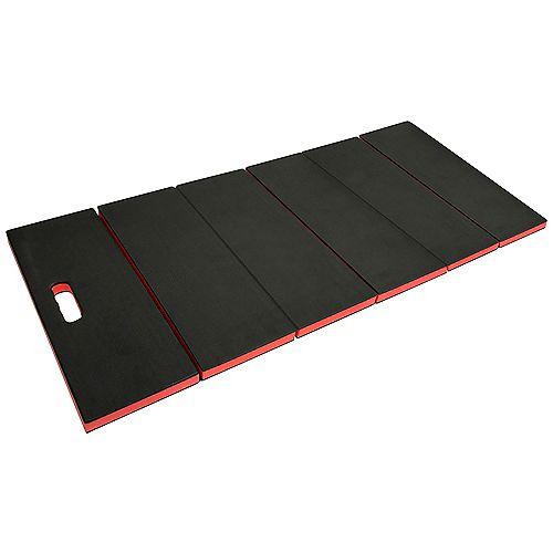120 cm. x 48,3 cm Noir Mat Utilitaire Pliant Multi-usages