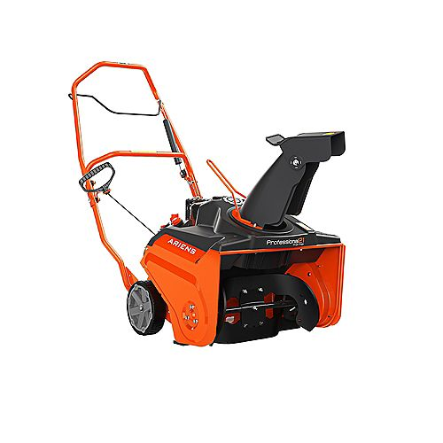 Professional 21-inch Single Stage Recoil Start Snowblower with 208cc Ariens AX Engine & Manual Chute