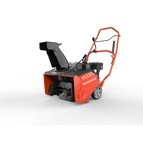 Professional 21-inch Single Stage Recoil Start Snowblower with 208cc Ariens AX Engine & Remote Chute
