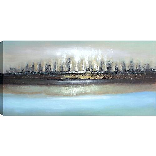 L'Horizon j'ai, Art du paysage, toile impression Wall Art