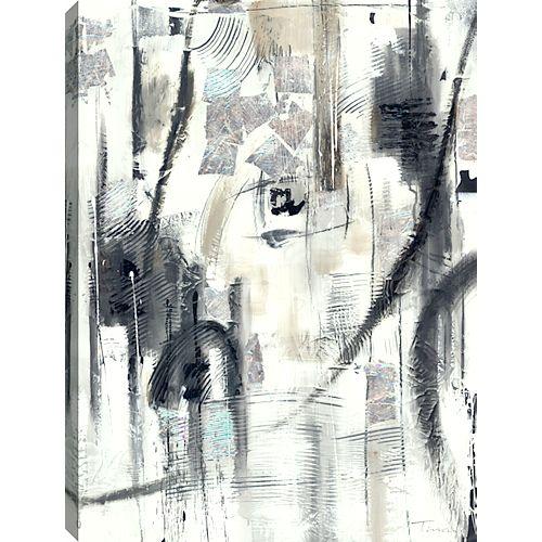 Black and White, Landscape Art, Canvas Print Wall Art
