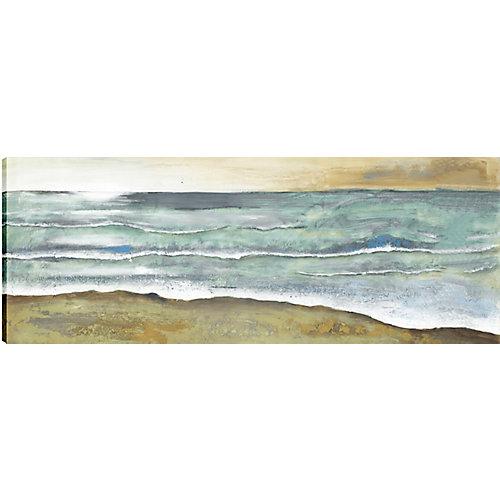 La mer s'est échappée, Art du paysage, toile imprimer Wall Art