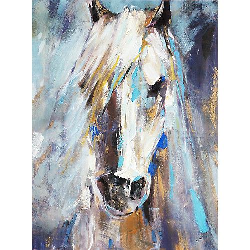 Beauté bleue III, Art animalier, toile imprimer Wall Art