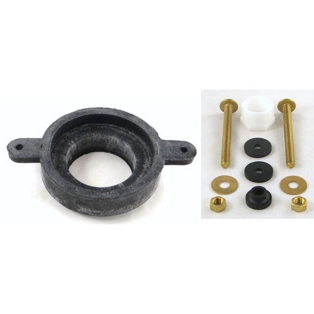BRIGGS Plumbing Products Kit de réparation de réservoir de toilette avec joint et boulons