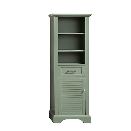 Colton 22 inch Linen Tower in Basil Green