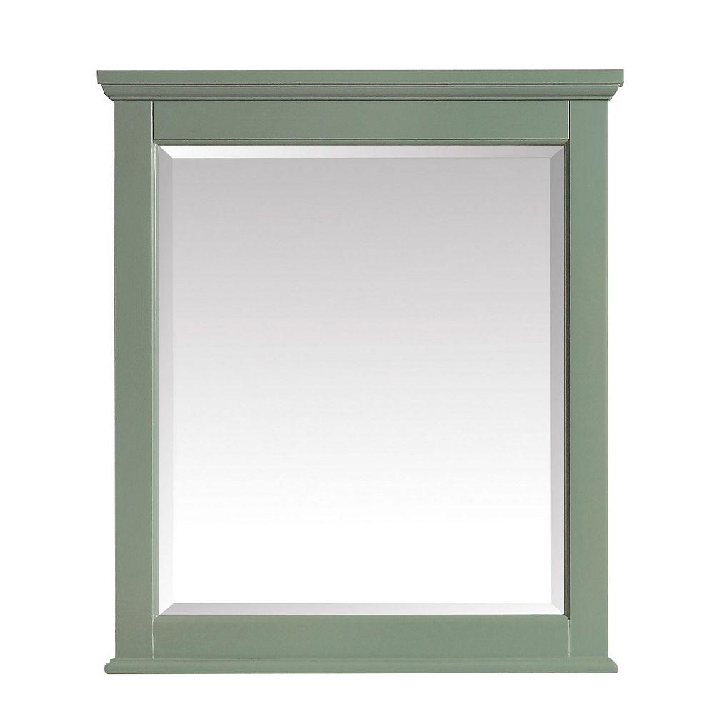 Avanity Miroir Colton de 28po, fini vert basilic