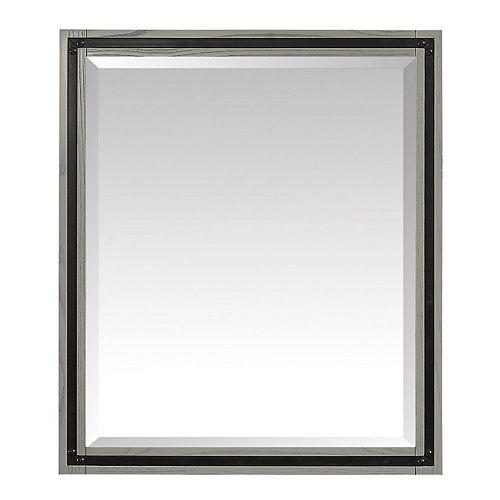 Avanity Miroir Dexter de 30po, fini gris rustique