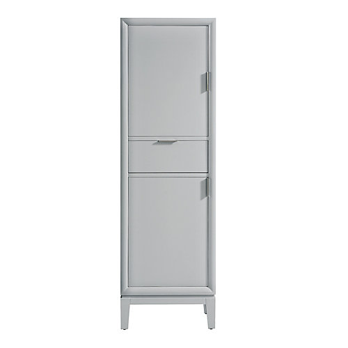 Emma 20 inch Linen Tower in Dove Gray
