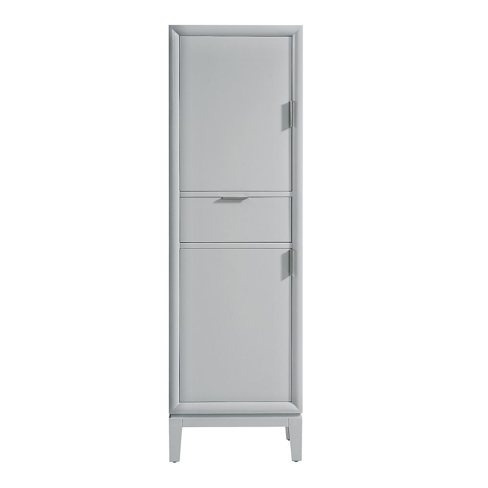 Avanity Emma 20 inch Linen Tower in Dove Gray