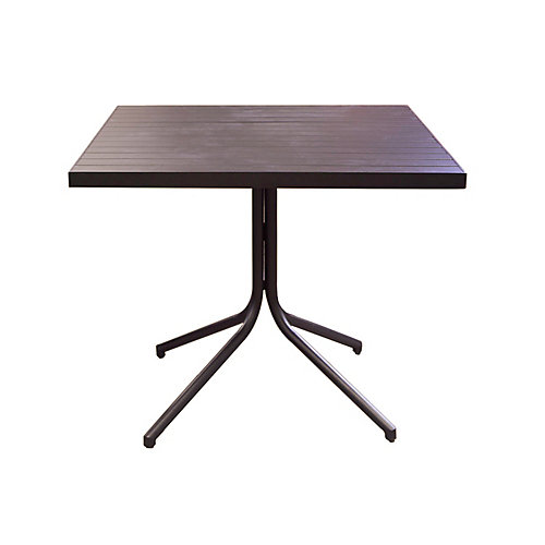 Table bistro carrée Sorrento, 36 po
