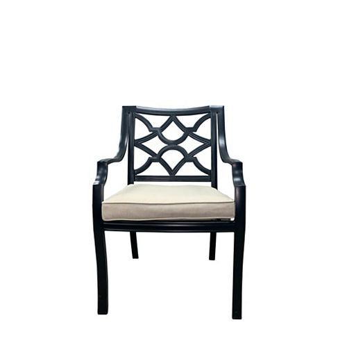 Delilah Patio Dining Chair with Cushion