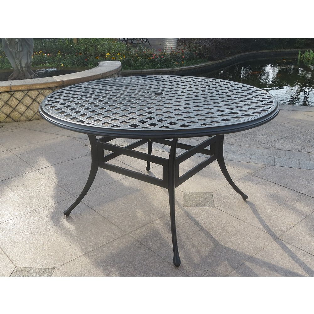 ONSIGHT Delilah 52-inch Patio Dining Table | The Home ...