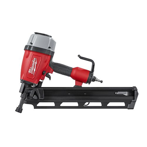 Pneumatic 3-1/2-Inch 21 Degree Full Round Head Framing Nailer