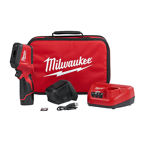 M12 12V Lithium-Ion Cordless Thermal Imager Kit W/(1) 1.5Ah Battery, Charger, Tool Bag