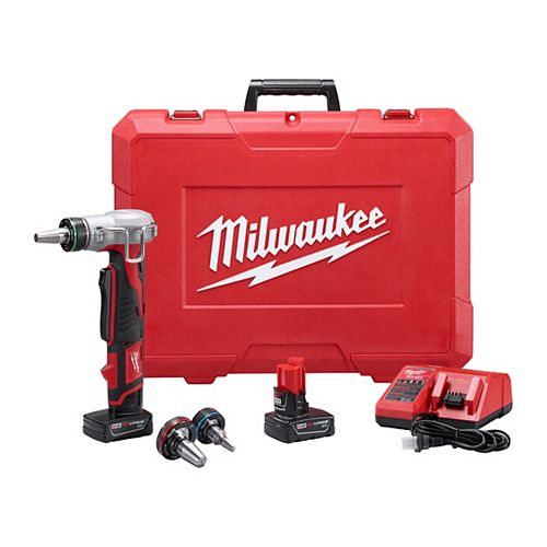 Milwaukee Tool M12 12V Lithium-Ion sans fil ProPEX Extension Tool Kit