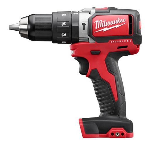 M18 18V 1/2-inch Cordless Compact Brushless Hammer Drill (Tool Only)