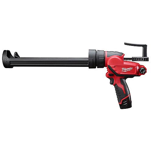 Kit de calfeutrage et de pistolet adhésif sans fil 12 V au lithium-ion M12 avec (1) batterie de 1,5 Ah et chargeur.